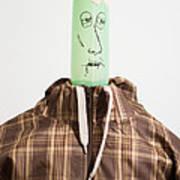 Balloon Heads - Spencer Art Print