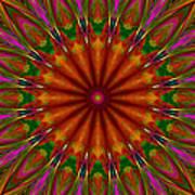 Balloon Kaleidoscope Art Print