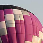 Balloon-purple-7457 Art Print