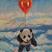 Balloon Ride Art Print by Michael Creese