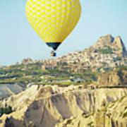 Balloon Ride Over Goreme National Park Art Print