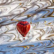 Balloon Shimmy Art Print