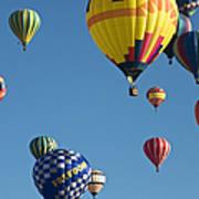 Balloons Galore Art Print