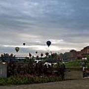 Balloons Over Lewiston Art Print