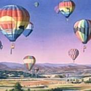 Balloons Over San Dieguito Art Print