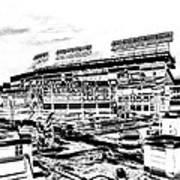 Ballpark Art Print