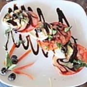 Balsamic Salad Art Print