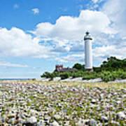 Baltic Sea Lighthouse Art Print