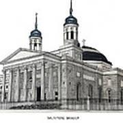 Baltimore Basilica Art Print