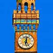Baltimore Clock Tower Art Print