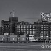 Baltimore Domino Sugars Plant II Art Print