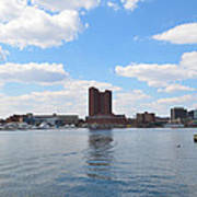 Baltimore Harbor Art Print