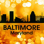 Baltimore Md 3 Art Print