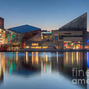 Baltimore National Aquarium At Dawn I Art Print