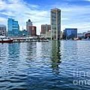 Baltimore On The Water Art Print