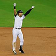 Baltimore Orioles V New York Yankees Art Print