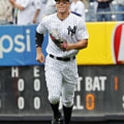 Baltimore Orioles vs New York Yankees Art Print