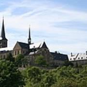Bamberg Michelsberg - Germany Art Print