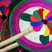 Bamboo And Palm Fan Art Print