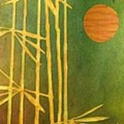 Bamboo Moon Art Print