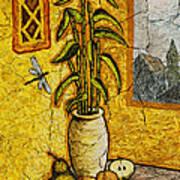 Bamboo Art Print by Sergey Khreschatov