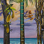 Banana Country Art Print