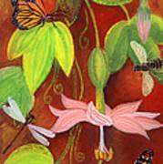 Bananapoka Art Print by Anna Skaradzinska