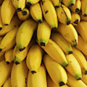Bananas At The Saturday Market, San Art Print
