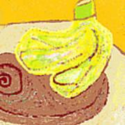 Bananas From Paphos 3 Art Print by Anita Dale Livaditis