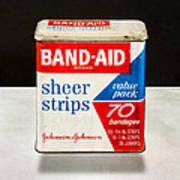 Band-aid Box Art Print