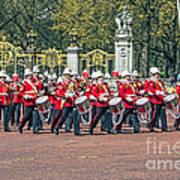 Band Of The Guard Art Print