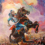 Banda Singh Bahadur Art Print