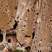 Bandelier Caves Art Print