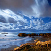 Bandon Nightlife Art Print