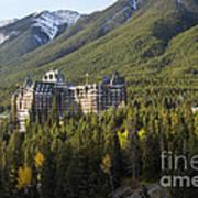 Banff Fairmont Springs Hotel Art Print