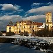 Banffy Castle In Transylvania Art Print