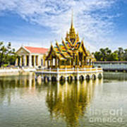 Bang Pa In Palace Thailand Print by Colin and Linda McKie