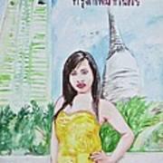 Bangkok 2009 Art Print