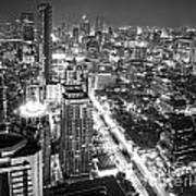 Bangkok Skyline 1 - Thailand Art Print