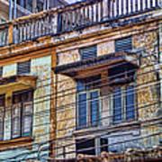 Bangkok Slum Housing Art Print