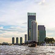 Bangkok Towers Art Print