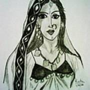 Banjaran - Indian Village Woman  Art Print