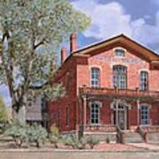 Bannock-montana-hotel Meade Art Print