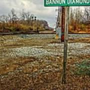 Bannon Diamond 01 Art Print