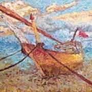 Banoush II Art Print