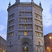 Baptistery Of Parma Art Print