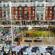 Bar 38 Gunwharf Quays Art Print