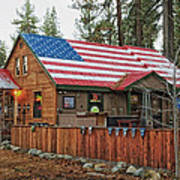 Bar And Grill In South Lake Tahoe Art Print