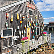 Bar Harbor Restaurant Art Print