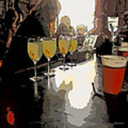 Bar Scene - Absinthe At Pirates Alley Art Print